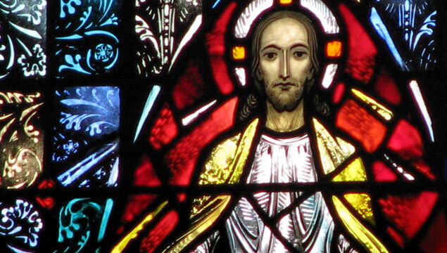 Holy Spirit's stained glass windows were created by Connick Studios of Boston