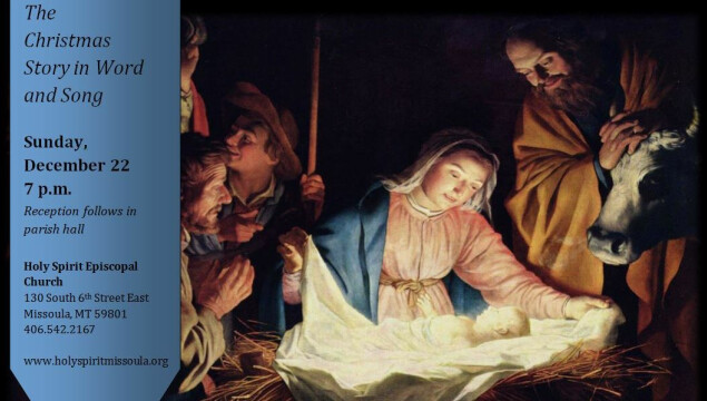 Join us for the Festival Service of Nine Lessons and Carols