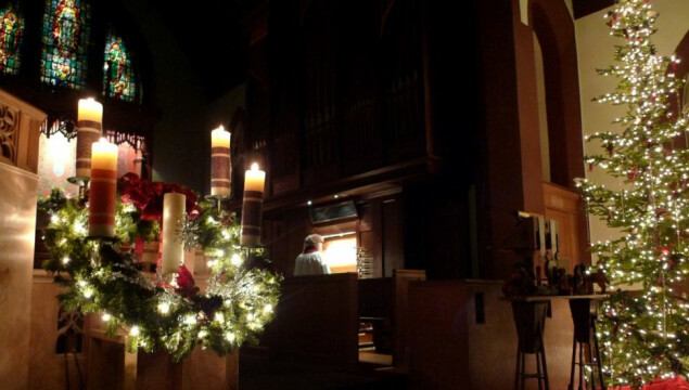 Our Christmas Services are at 4 pm and 10 pm on Christmas Eve.