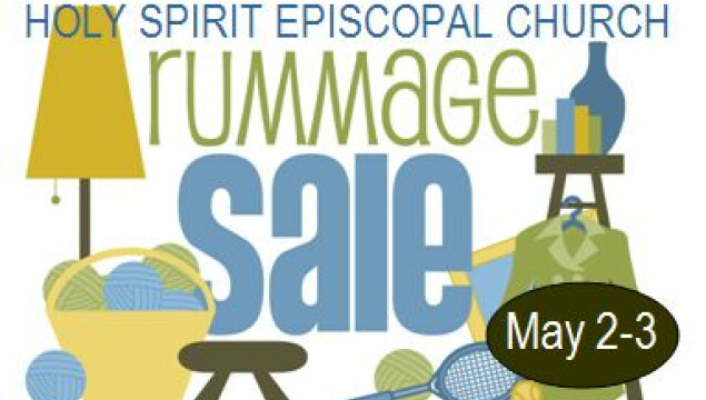Holy Spirit Rummage Sale May 2-3