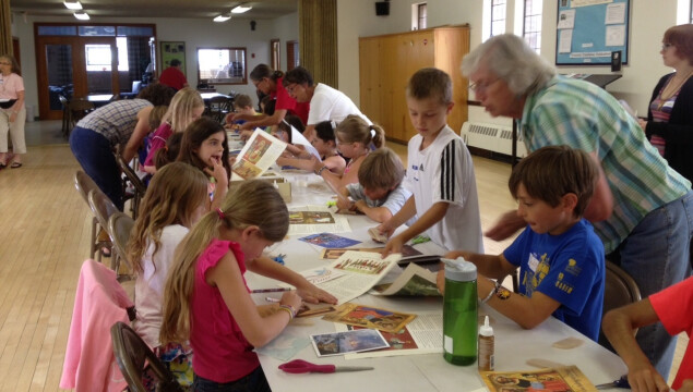 We had a great time at Vacation Bible School at Holy Spirit!