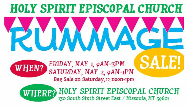 Our famous Rummage Sale is coming! Sign up to help, donate items, and come shop!