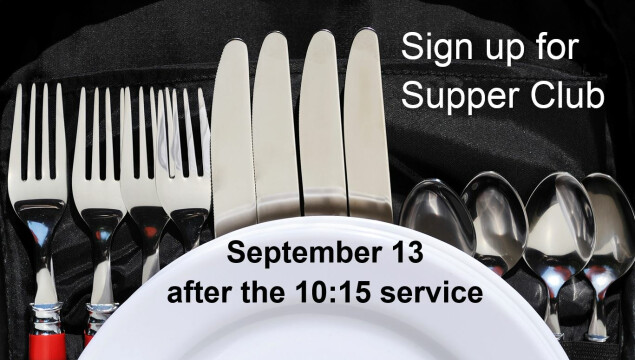 Sign up for Supper Club!