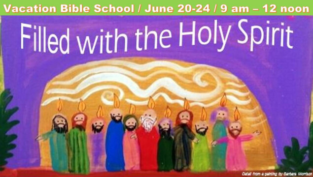 Vacation Bible School June 20-24