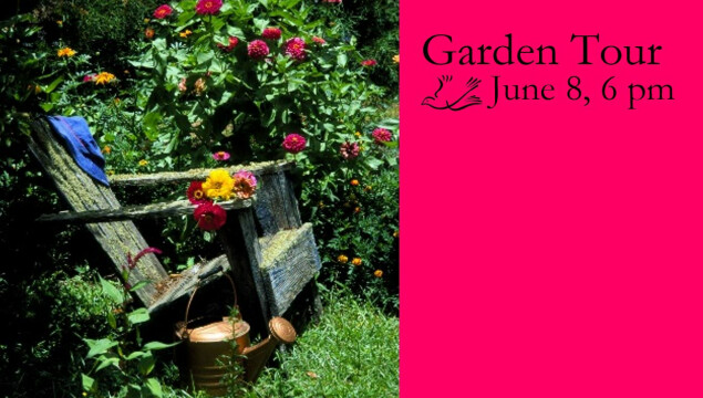 Join us for a tour of four beautiful gardens!