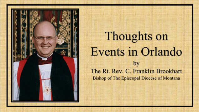 A Letter from Bishop Brookhart
