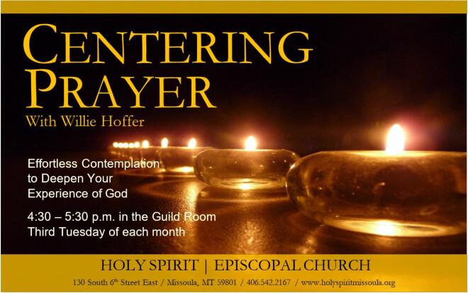 12 pm Centering Prayer