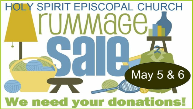 We need your donations for the rummage sale!