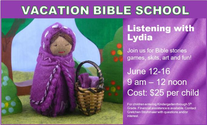 Holy Spirit Episcopal Church › Events › 9 am Vacation Bible School