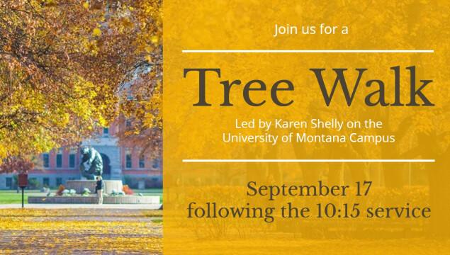 Tree Walk September 17