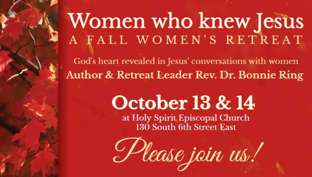 Women's Retreat - October 13 and 14