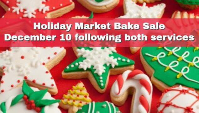 Holiday Bake Sale December 10
