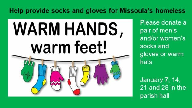 Warm Hands, Warm Feet: Donate Socks, Gloves, and Hats