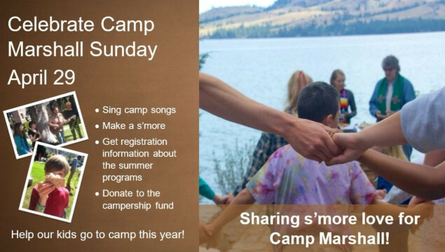 Find out more about Camp Marshall on April 29