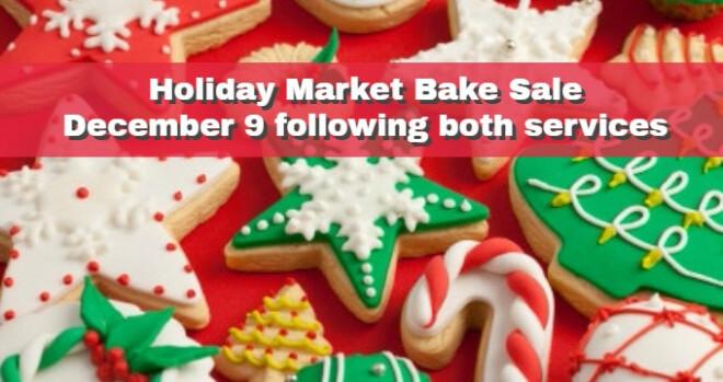 Holiday Bake Sale follows both services