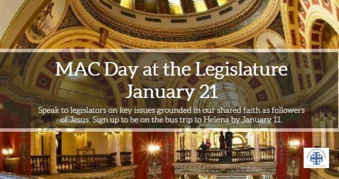 MAC Day at the Legislature - Sign up by Jan. 11
