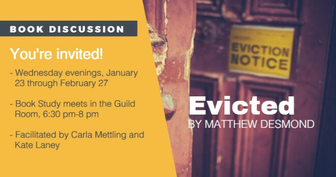 6:30 pm Book Study: Evicted