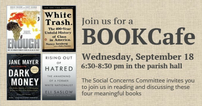 6:30 - 8:30 pm Book Cafe