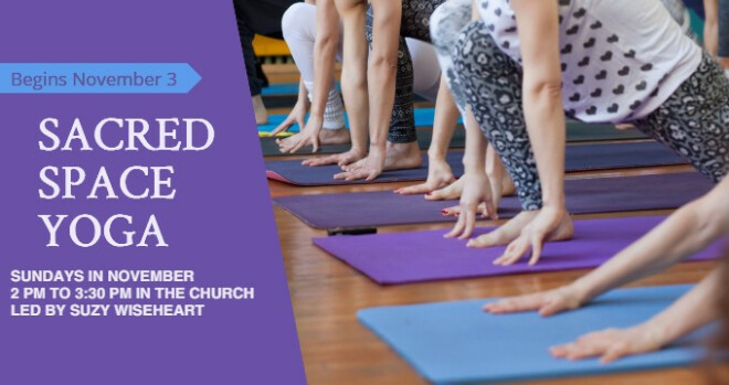 2 pm Sacred Space Yoga