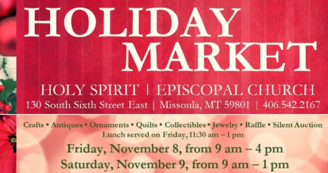 9 am - 1 pm Holiday Market