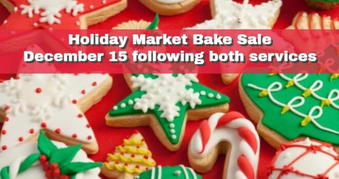 Holiday Market Bake Sale