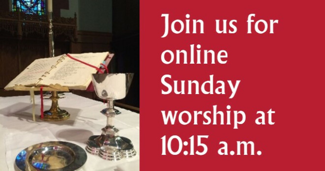 Worship Services online only