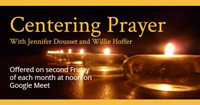 12 noon Centering Prayer