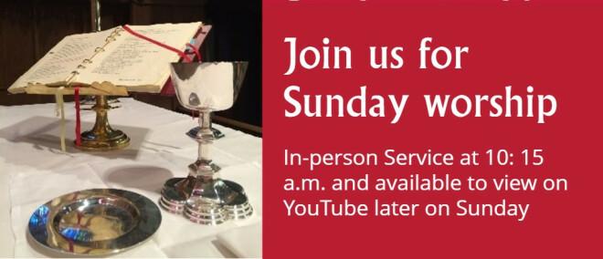 10:15 am Worship Service