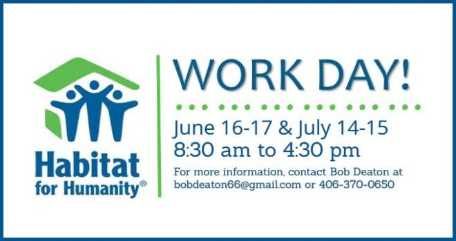 Habitat for Humanity Work Day