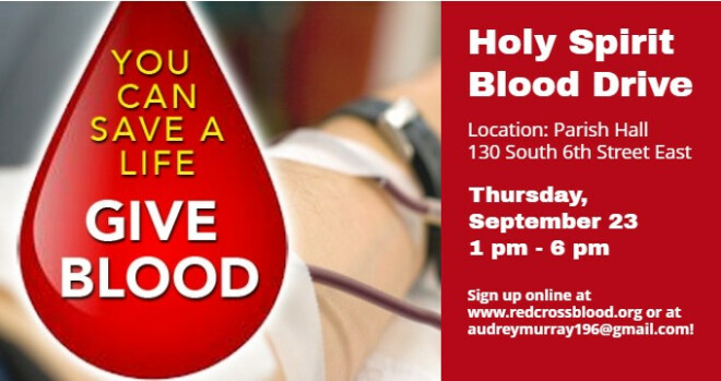 1 to 6 pm Blood Drive