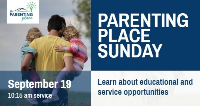 Parenting Place Sunday